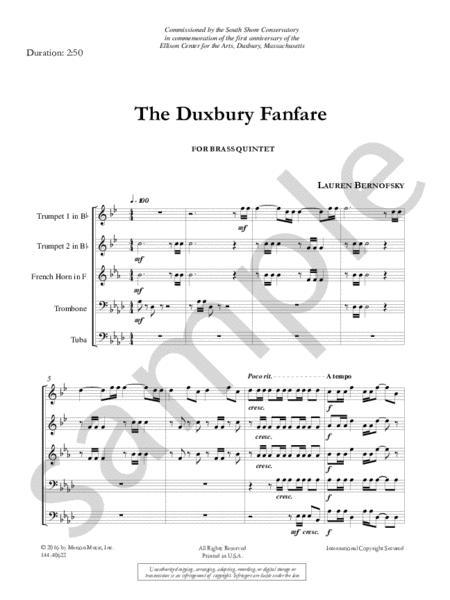 The Duxbury Fanfare