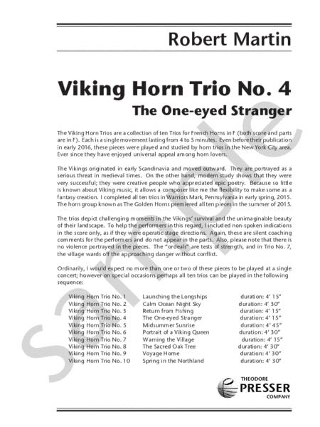 Viking Horn Trio No. 4