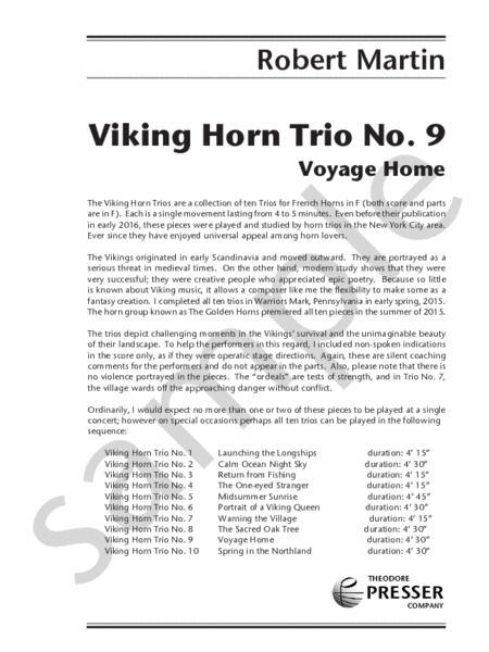 Viking Horn Trio No. 9