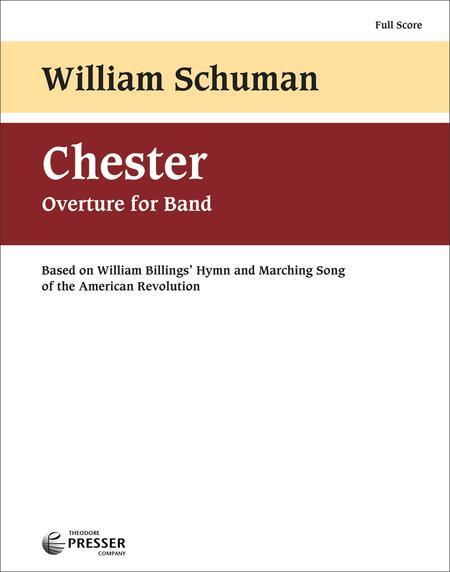Chester Sheet Music By William Schuman - Sheet Music Plus