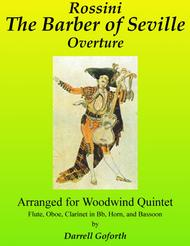 Rossini: The Barber of Seville, Overture arranged for Woodwind Quintet (in F major)