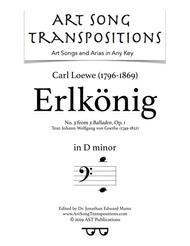 Erlkönig, Op.1 no. 3 (D minor)