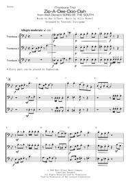 (Trombone Trio) Zip-A-Dee-Doo-Dah