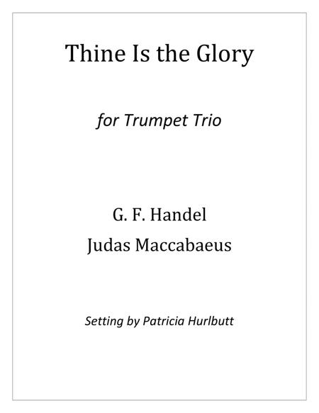 Thine Is the Glory (Judas Maccabaeus)