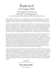 Etude in C, Le Couppey-Nolte
