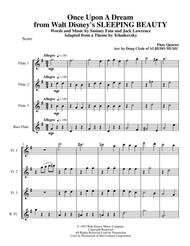 Once Upon A Dream from Walt Disney's SLEEPING BEAUTY for Flute Quartet