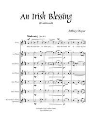An Irish Blessing (for flute choir & voice)