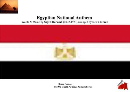 Egyptian National Anthem (Bilady, laki hubbi wa fu'ad) for Brass Quintet