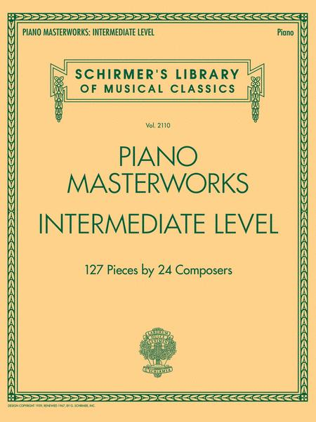Piano Masterworks - Intermediate Level