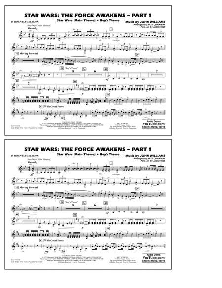 Star Wars: The Force Awakens - Part 1 - Bb Horn/Flugelhorn