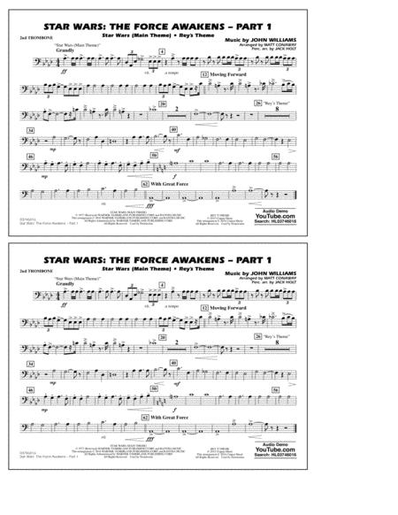 Star Wars: The Force Awakens - Part 1 - 2nd Trombone