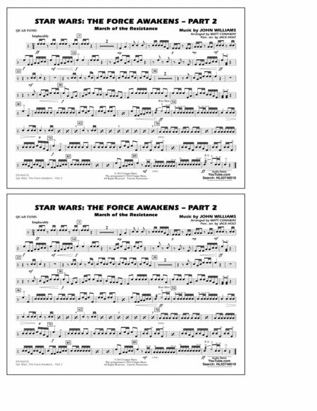 Star Wars: The Force Awakens - Part 2 - Quad Toms