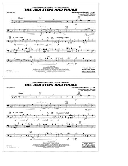 The Jedi Steps and Finale (from Star Wars: The Force Awakens) - Trombone