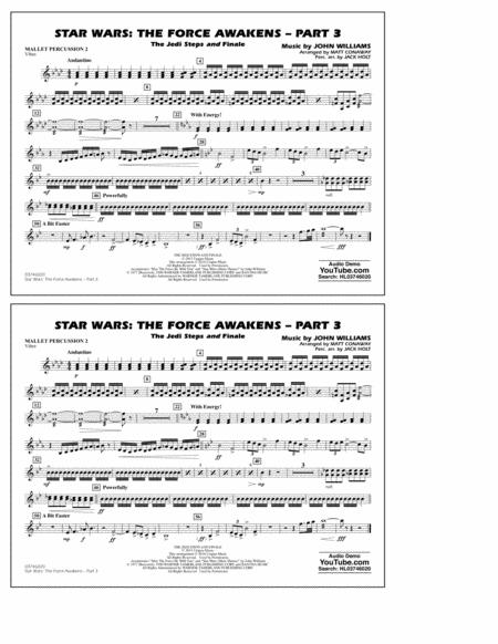 Star Wars: The Force Awakens - Part 3 - Mallet Percussion 2