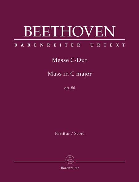 Mass C major op. 86