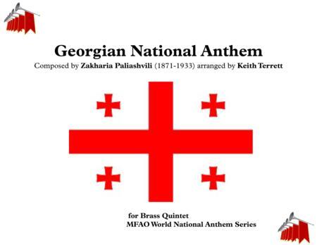 Georgian National Anthem (''Tavisupleba')' for Brass Quintet