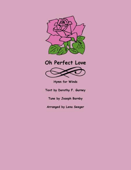 O Perfect Love (Sax quartet)