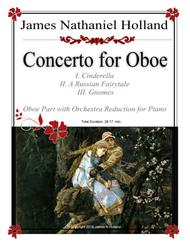 Concerto for Oboe Arranged for Oboe and Piano Orchestral Reduction Score
