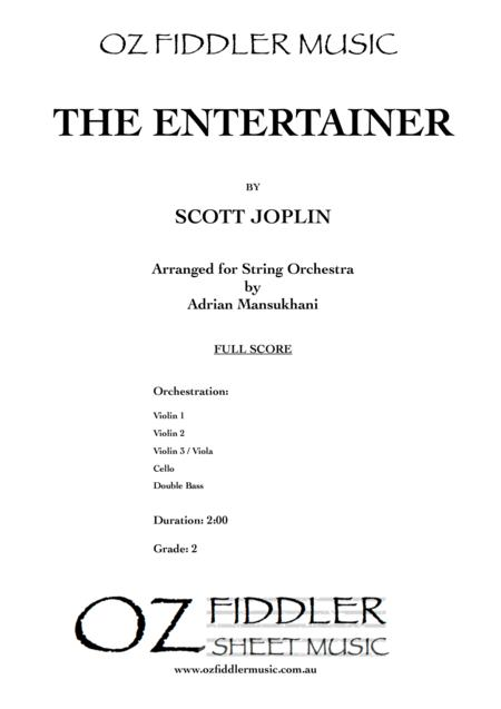 The Entertainer, by Scott Joplin