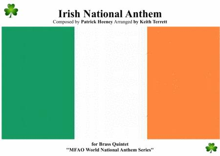 Irish National Anthem ( Amhrán na bhFiann) for Brass Quintet