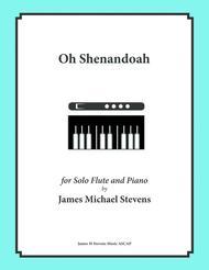 Oh Shenandoah - Solo Flute & Piano