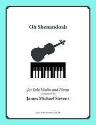 Oh Shenandoah - Solo Violin & Piano