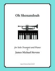 Oh Shenandoah - Solo Trumpet & Piano