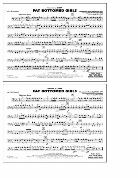 Fat Bottomed Girls - 2nd Trombone