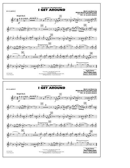 I Get Around - Bb Clarinet