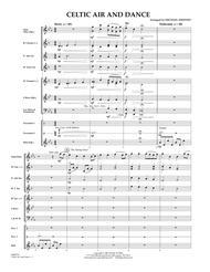 Celtic Air and Dance - Full Score