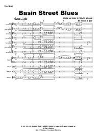 Basin Street Blues - Jazz - Saxophone Quintet