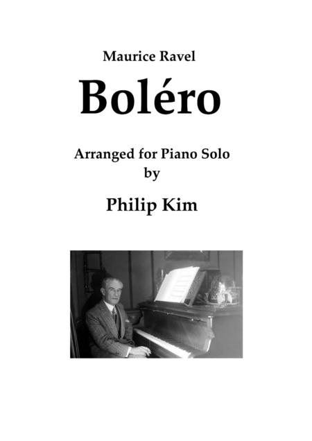 Download Bolro Sheet Music By Maurice Ravel Sheet Music Plus