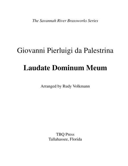 Laudate Dominum Meum
