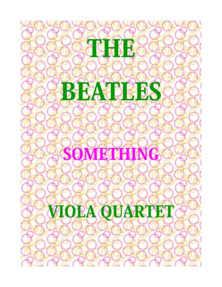 Something for Viola Quartet