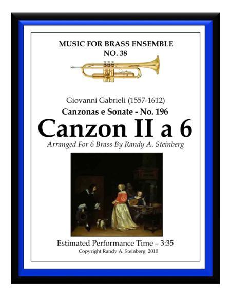 Canzon II a 6 - No. 196