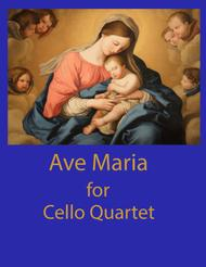 Ave Maria for Cello Quartet