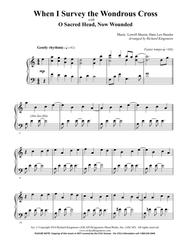 When I Survey the Wondrous Cross with O Sacred Head Now Wounded (solo piano)