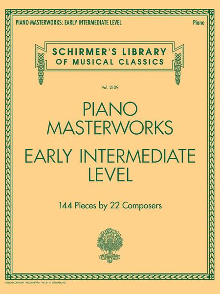 Piano Masterworks - Early Intermediate Level