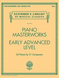 Piano Masterworks - Early Advanced Level