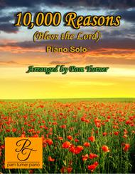Download 10,000 Reasons (Bless The Lord)(Intermediate Piano Solo