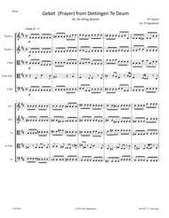 Handel: Gebet (Prayer) from Dettingen Te Deum  HWV 283 arr. for String Quintet