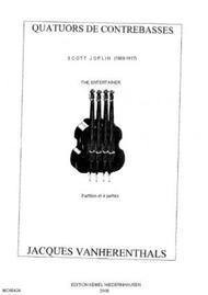 The entertainer : quatuor de contrebasses