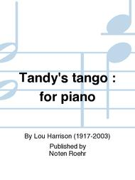 Tandy's tango : for piano