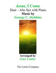 JESUS, I COME (Duet – Alto Sax & Piano with Parts)