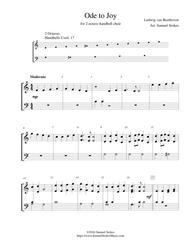 Ode to Joy (Joyful, Joyful, We Adore Thee) - for 2-octave handbell choir