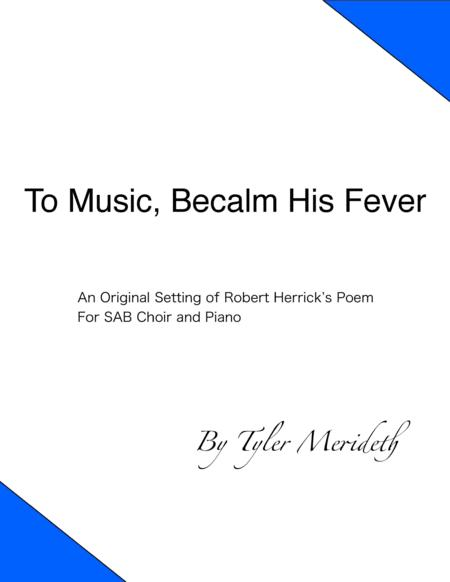To Music, Becalm His Fever