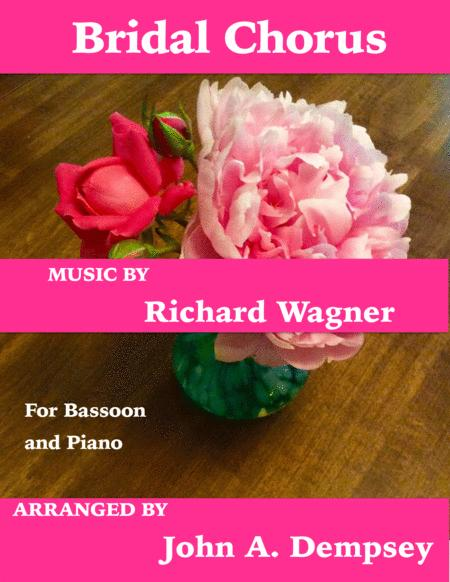 Bridal Chorus (Wedding March for Bassoon and Piano)