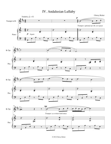 Andalusian Lullaby (#4 from the