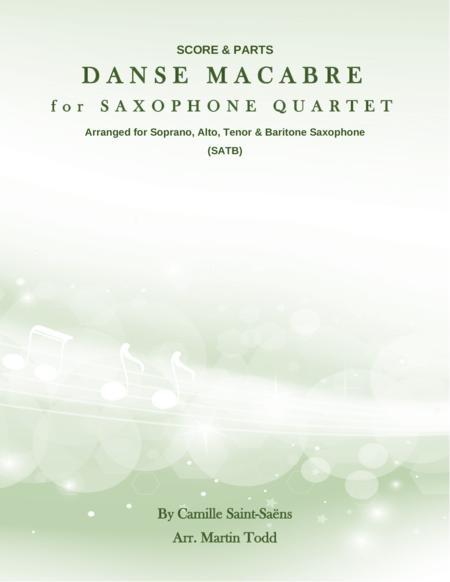 Danse Macabre for Saxophone Quartet (SATB)