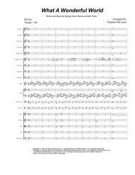 What A Wonderful World (Orchestra Score)